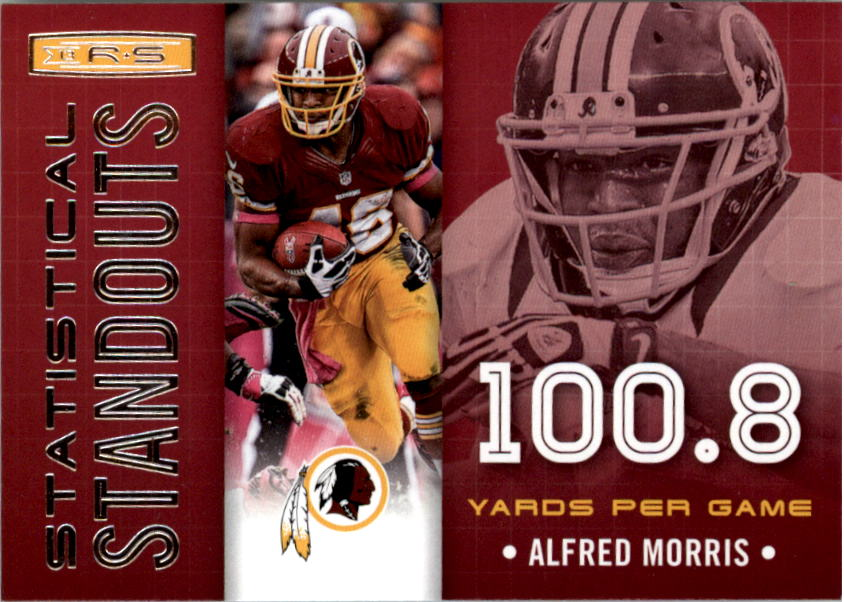 2013 Rookies and Stars Statistical Standouts #5 Alfred Morris