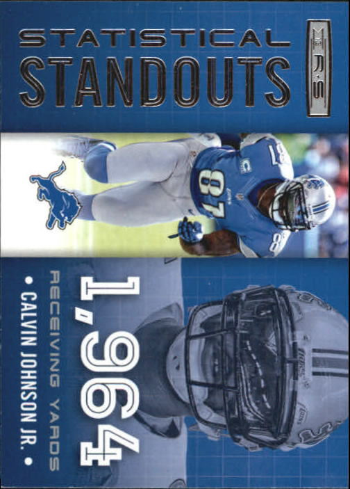 2013 Rookies and Stars Statistical Standouts #7 Calvin Johnson