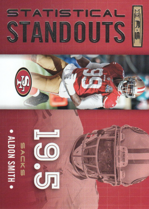 2013 Rookies and Stars Statistical Standouts #21 Aldon Smith