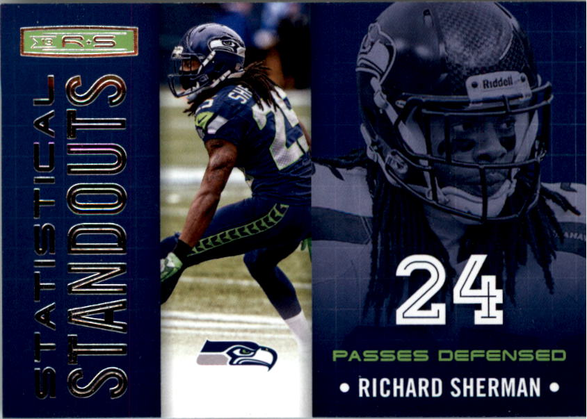 2013 Rookies and Stars Statistical Standouts #23 Richard Sherman