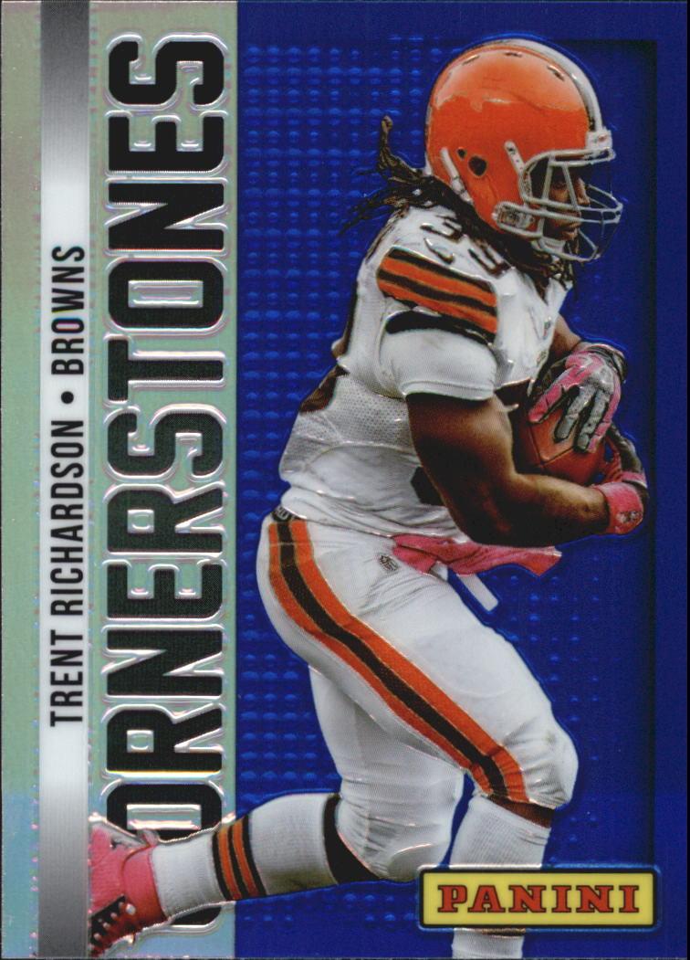 2013 Panini Cornerstones #8 Trent Richardson
