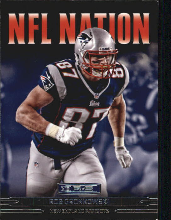2013 Rookies and Stars NFL Nation #1 Rob Gronkowski
