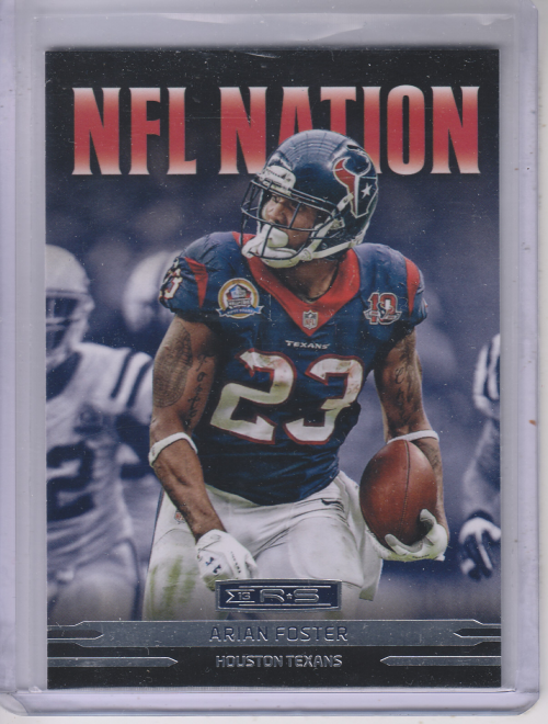2013 Rookies and Stars NFL Nation #2 Arian Foster