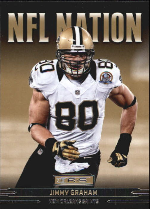 2013 Rookies and Stars NFL Nation #5 Jimmy Graham