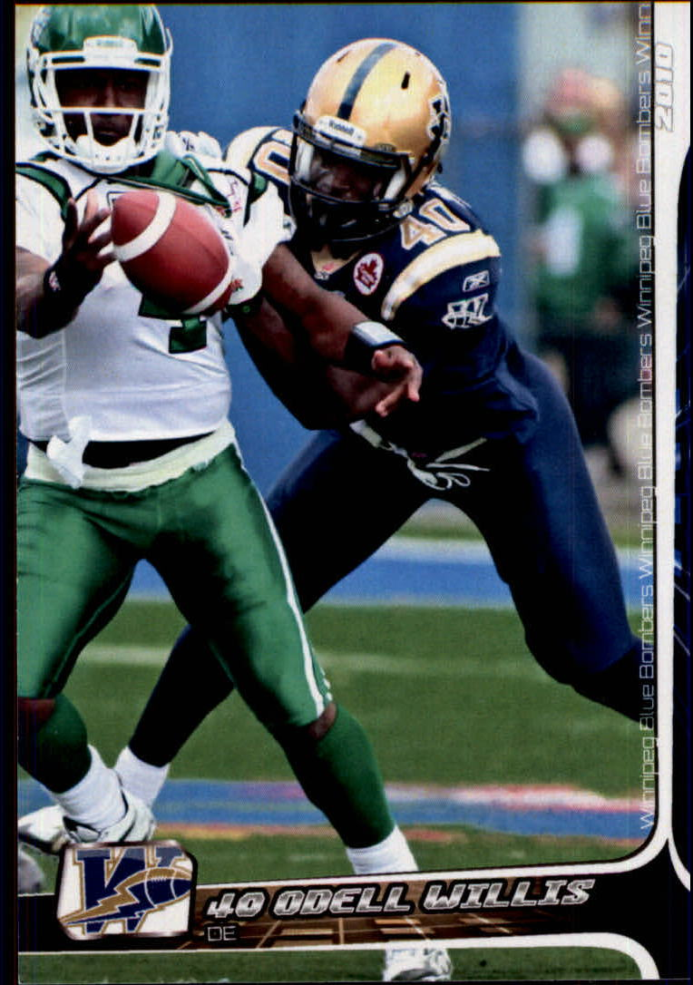 2010 Extreme CFL #80 Odell Willis