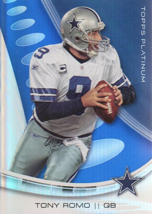 2013 Topps Platinum Sapphire #4 Tony Romo