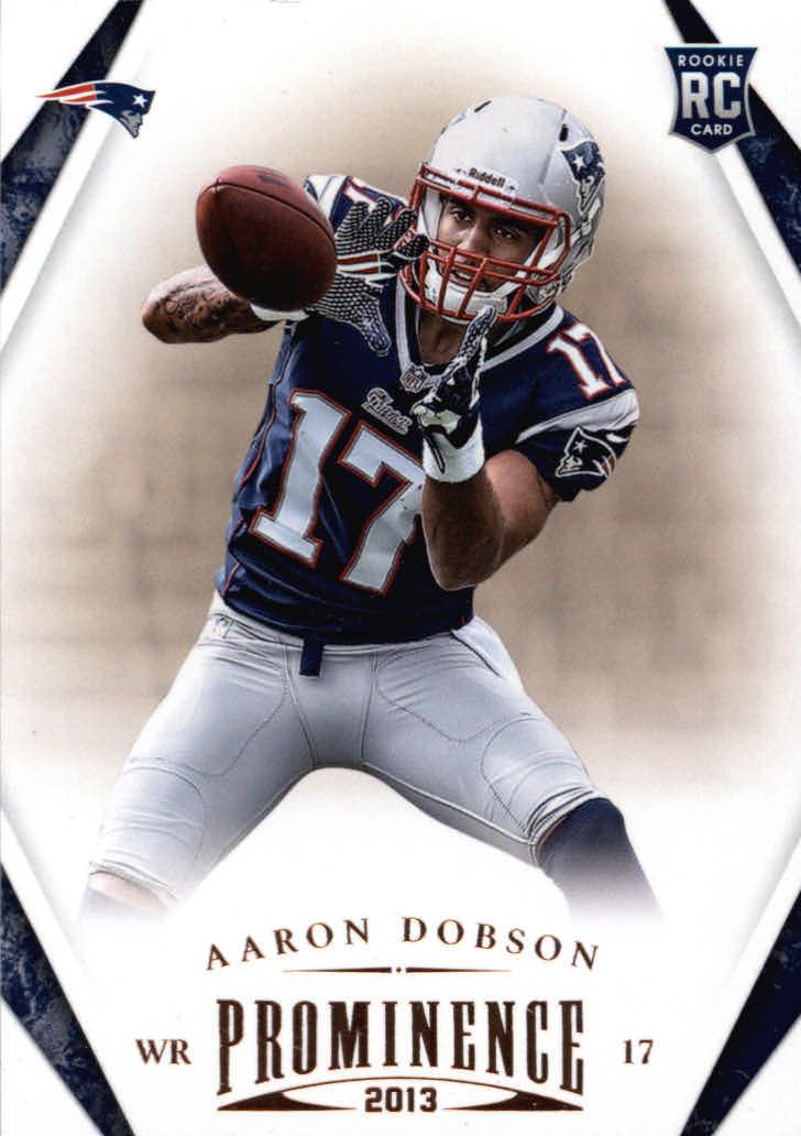 2013 Panini Prominence #101 Aaron Dobson RC