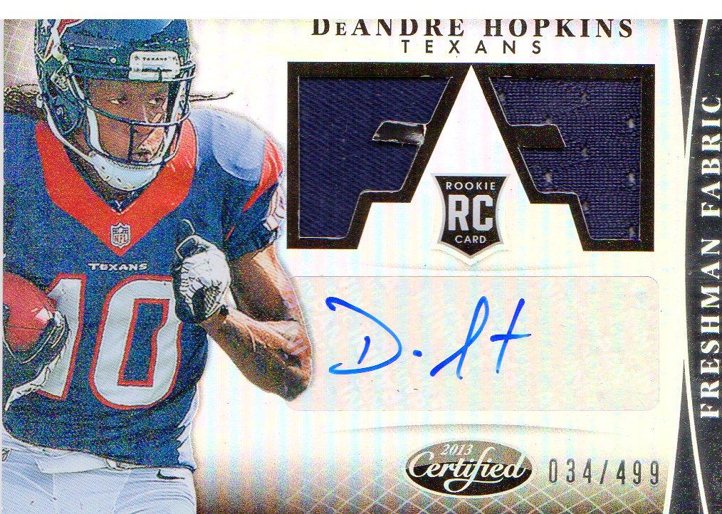 2013 Certified #305 DeAndre Hopkins JSY AU/499