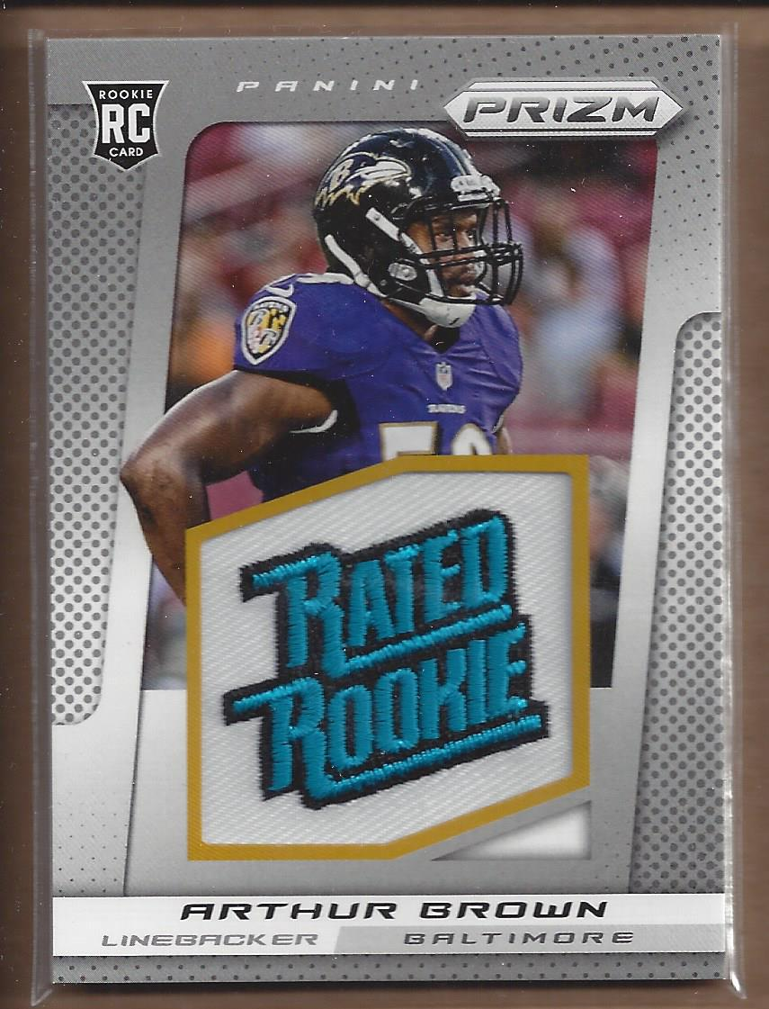 2013 Panini Prizm Rated Rookie Patches #207 Arthur Brown