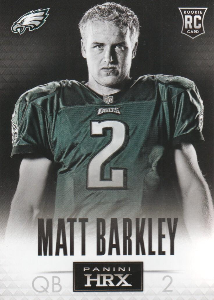 2013 Panini Prizm HRX Rookies #4 Matt Barkley