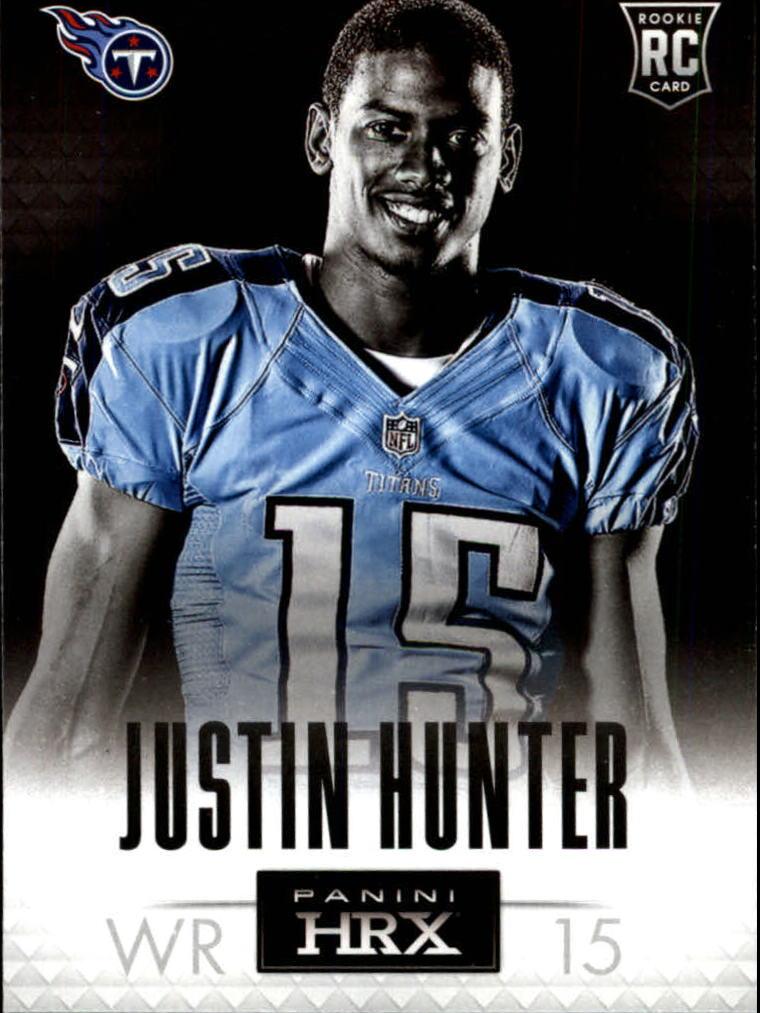 2013 Panini Prizm HRX Rookies #9 Justin Hunter