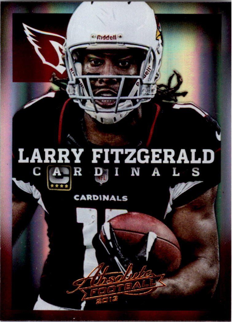 2013 Absolute #2 Larry Fitzgerald