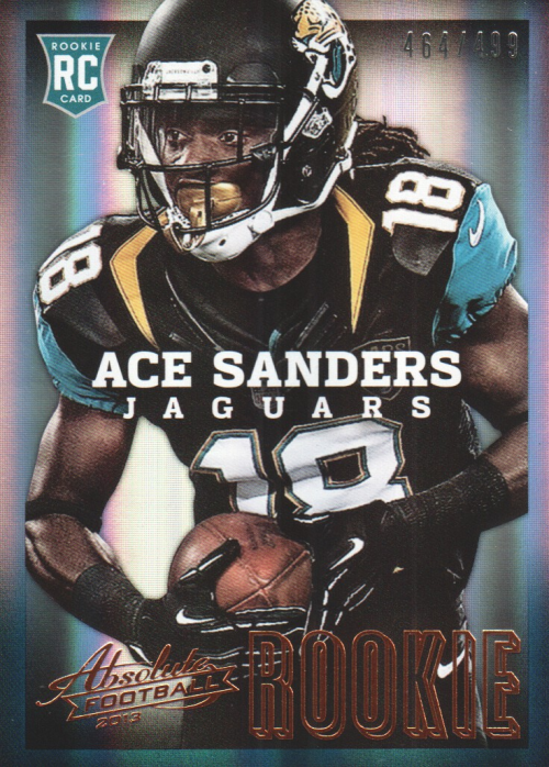 2013 Absolute #103A Ace Sanders/499 RC