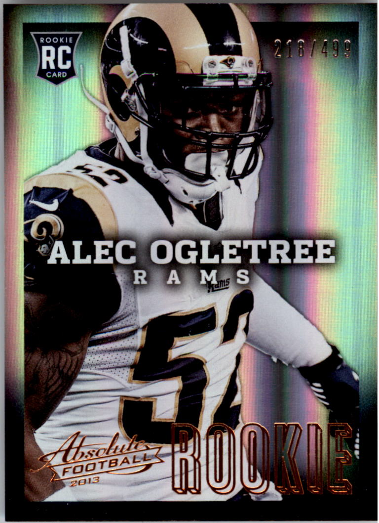 2013 Absolute #104 Alec Ogletree/499 RC