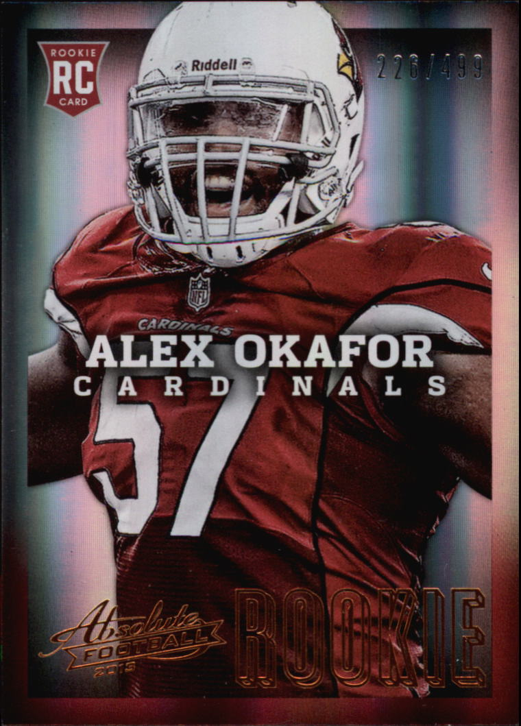 2013 Absolute #105 Alex Okafor/499 RC