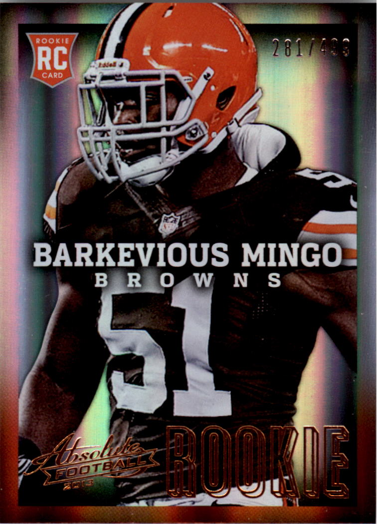2013 Absolute #108A Barkevious Mingo/499 RC