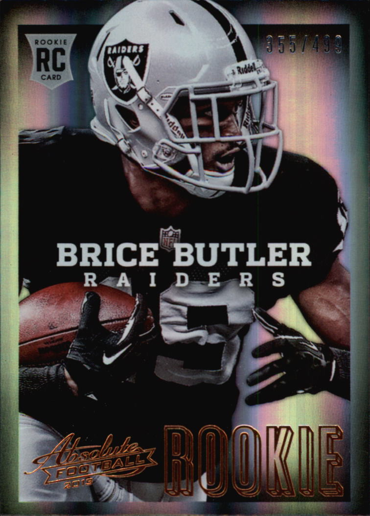 2013 Absolute #110 Brice Butler/499 RC
