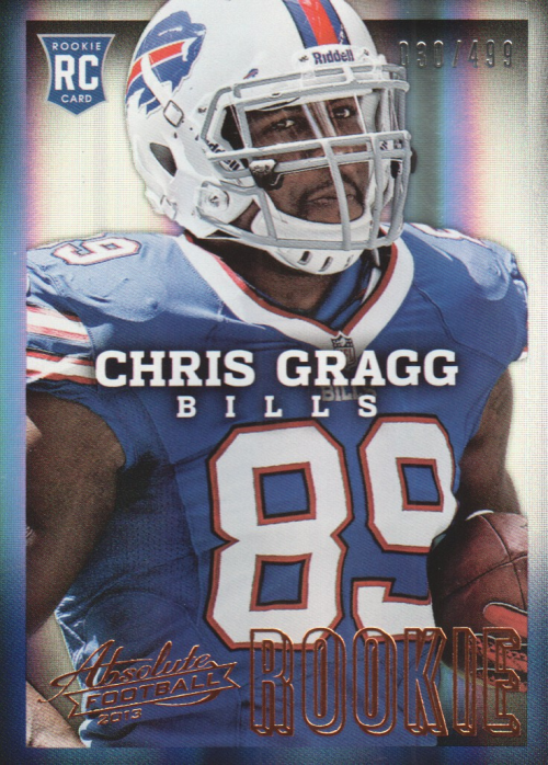 2013 Absolute #111 Chris Gragg/499 RC