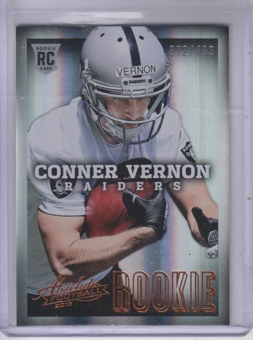 2013 Absolute #115 Conner Vernon/499 RC