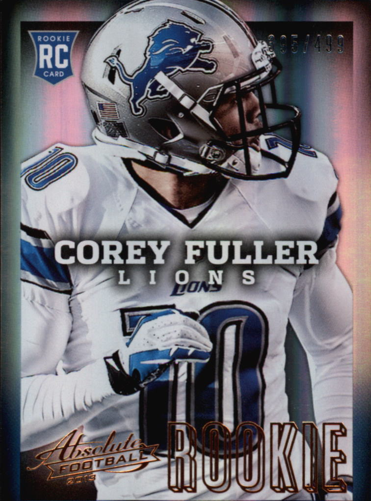 2013 Absolute #117 Corey Fuller/499 RC