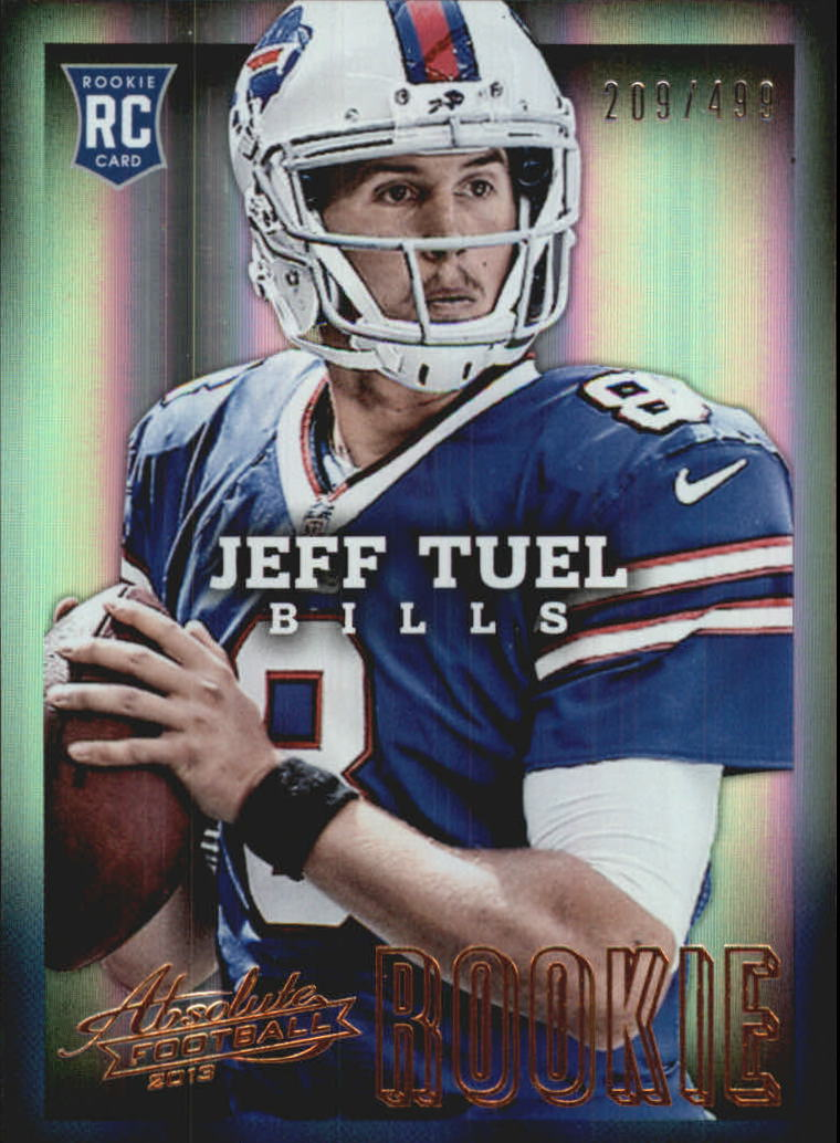 2013 Absolute #119 Jeff Tuel/499 RC