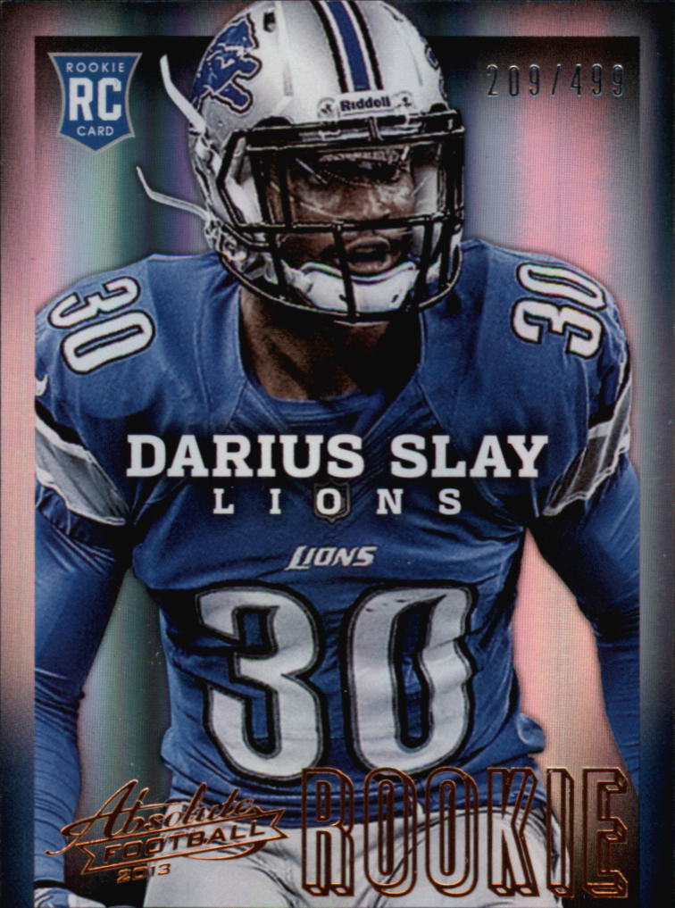 2013 Absolute #120 Darius Slay/499 RC