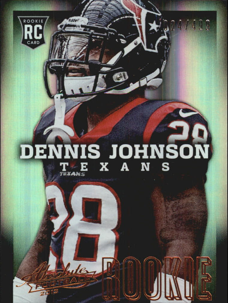 2013 Absolute #125 Dennis Johnson/499 RC
