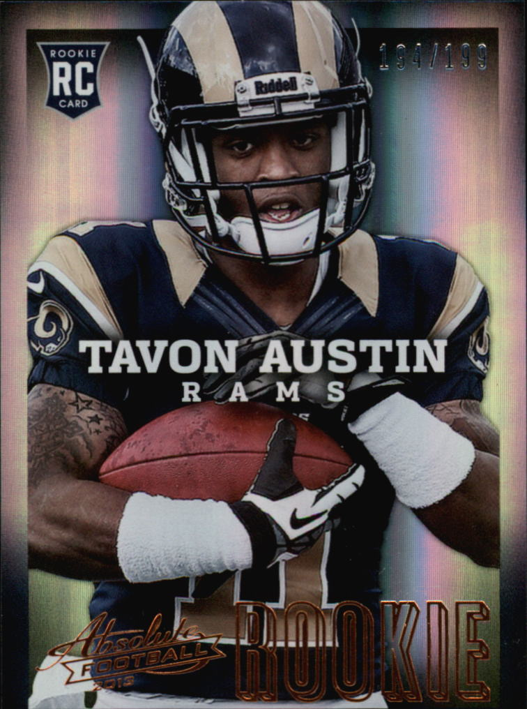 2013 Absolute #189A Tavon Austin/199 RC