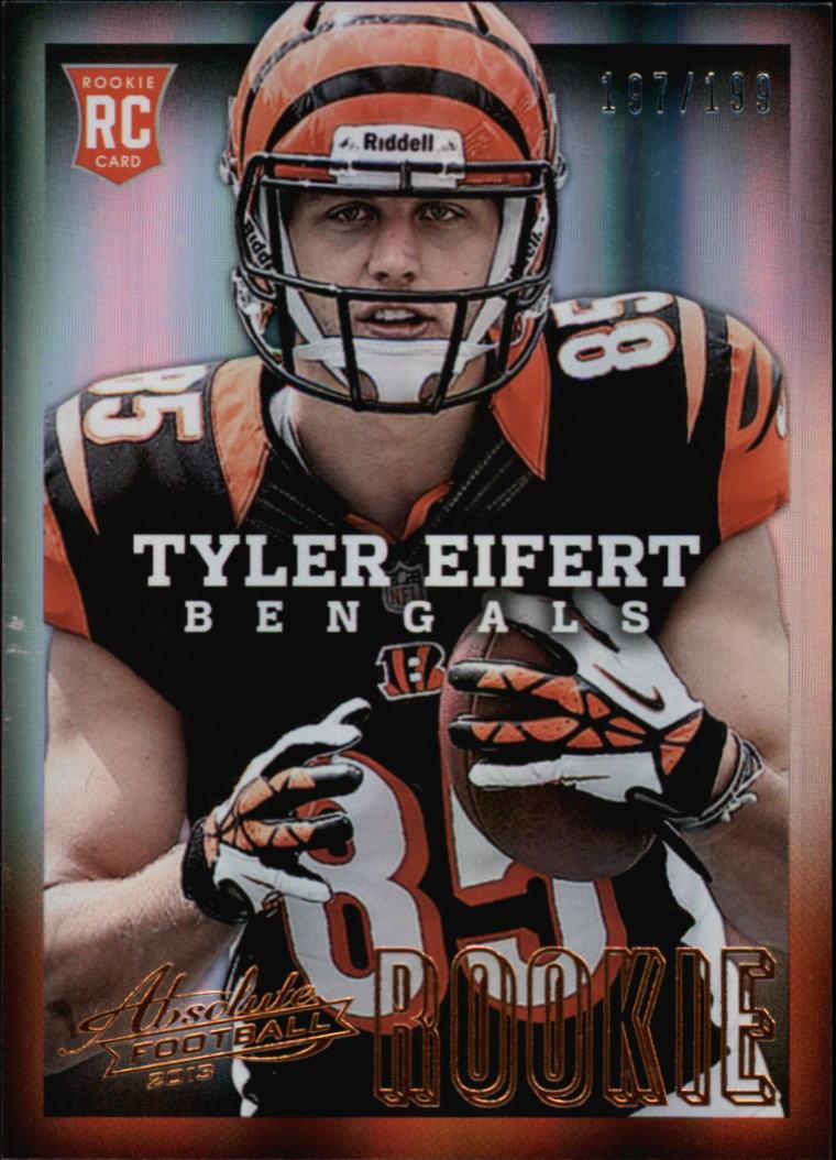 2013 Absolute #194A Tyler Eifert/199 RC