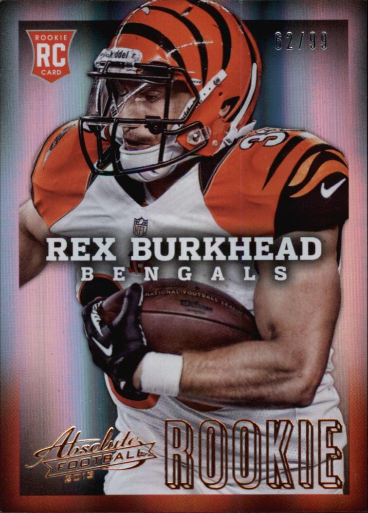 2013 Absolute #176B Rex Burkhead/99
