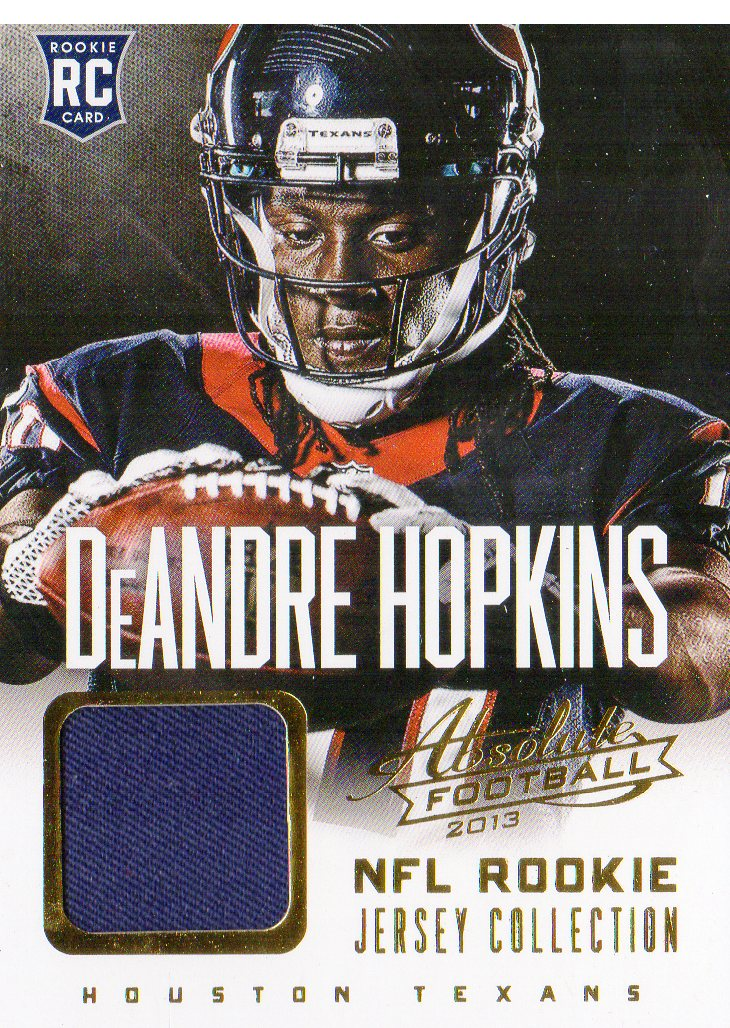 2013 Absolute Rookie Jersey Collection #5 DeAndre Hopkins