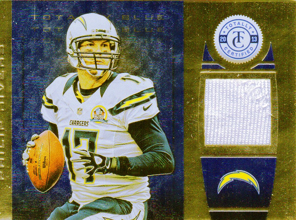 2013 Totally Certified Blue Materials #21 Philip Rivers/99