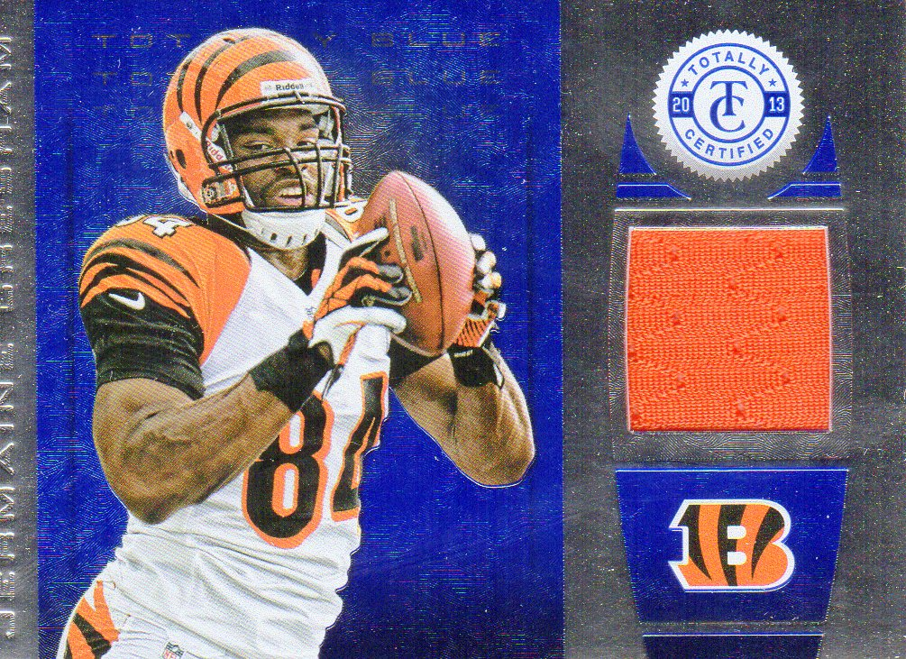 2013 Totally Certified Blue Materials #66 Jermaine Gresham/99