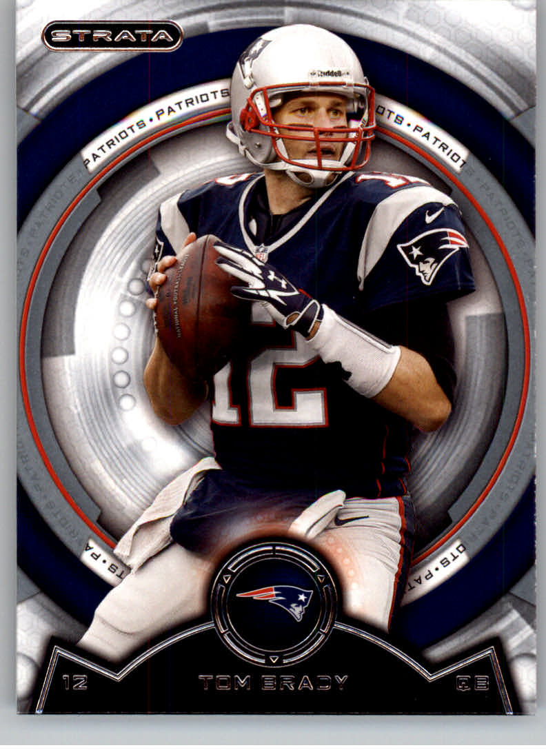 2013 Topps Strata #95 Tom Brady