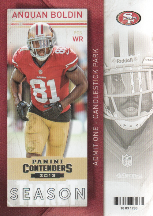 2013 Panini Contenders #2 Anquan Boldin