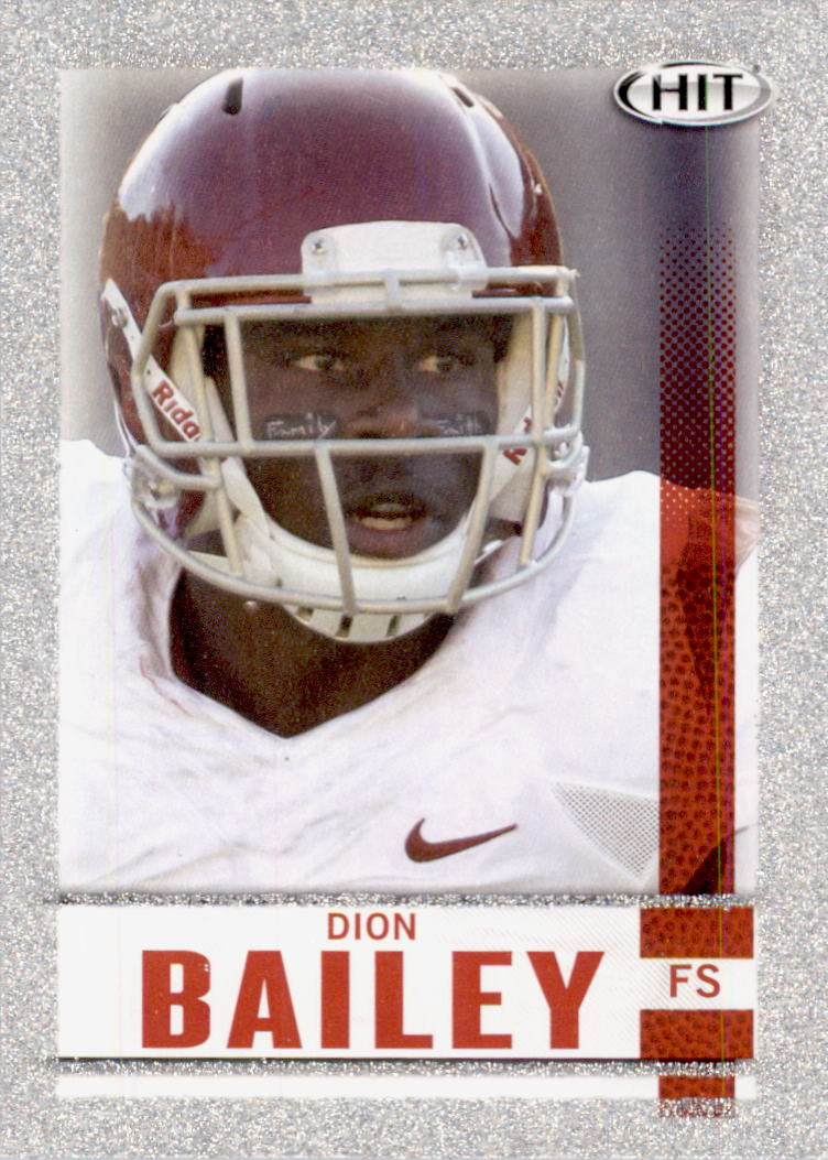 2014 SAGE HIT Silver #18 Dion Bailey