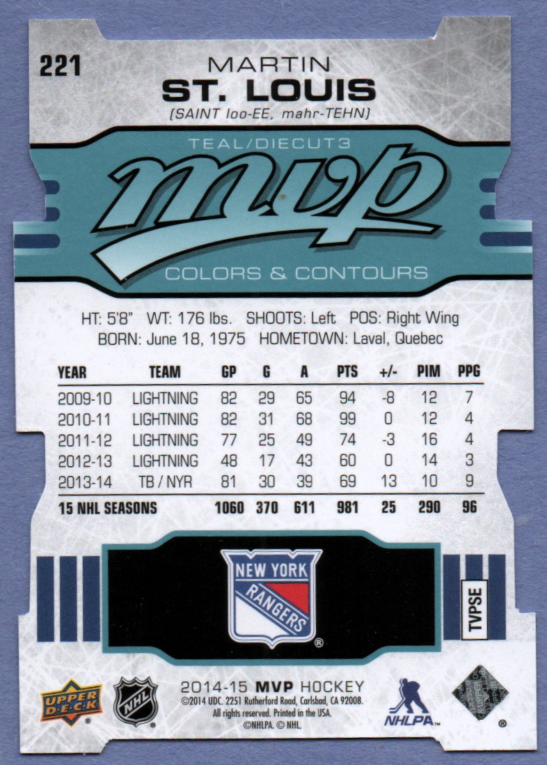 2014-15-Upper-Deck-MVP-Colors-and-Contours-Pick-From-List-201-300 thumbnail 4