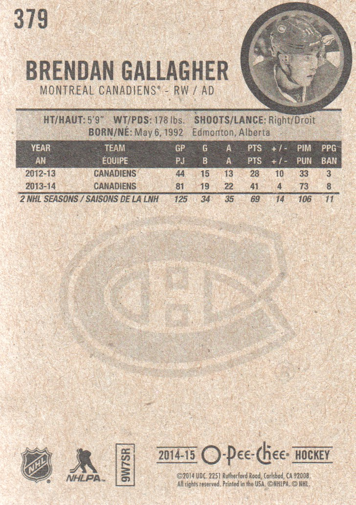 2014-15-O-Pee-Chee-Pick-From-List-251-500 thumbnail 187