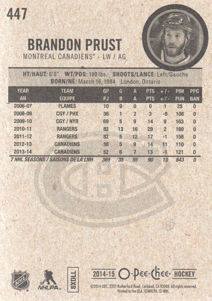 2014-15-O-Pee-Chee-Pick-From-List-251-500 thumbnail 275