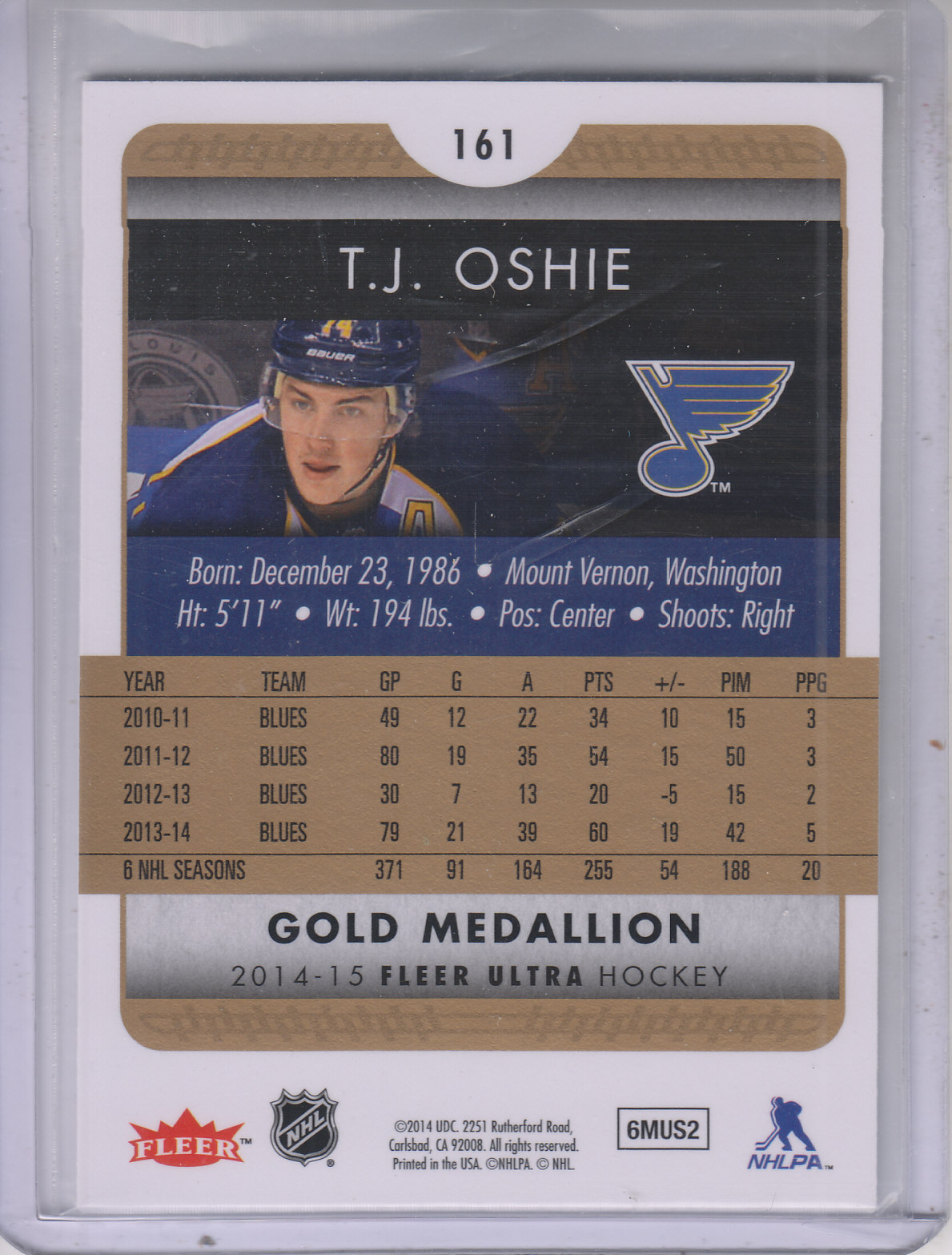 2014-15-Ultra-Hk-Base-Gold-Inserts-Rookies-You-Pick-Buy-10-cards-FREE-SHIP thumbnail 149
