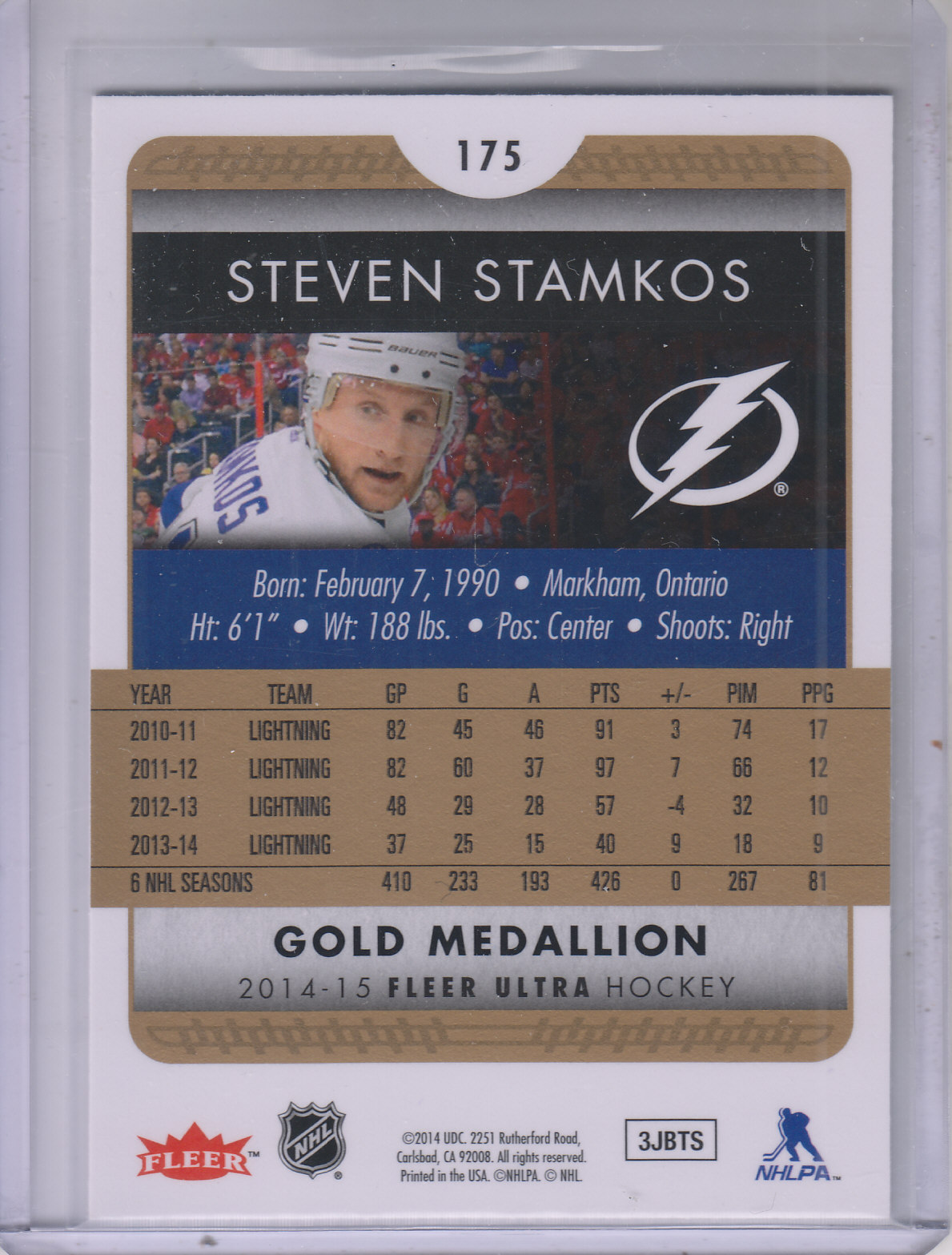 2014-15-Ultra-Hk-Base-Gold-Inserts-Rookies-You-Pick-Buy-10-cards-FREE-SHIP thumbnail 159