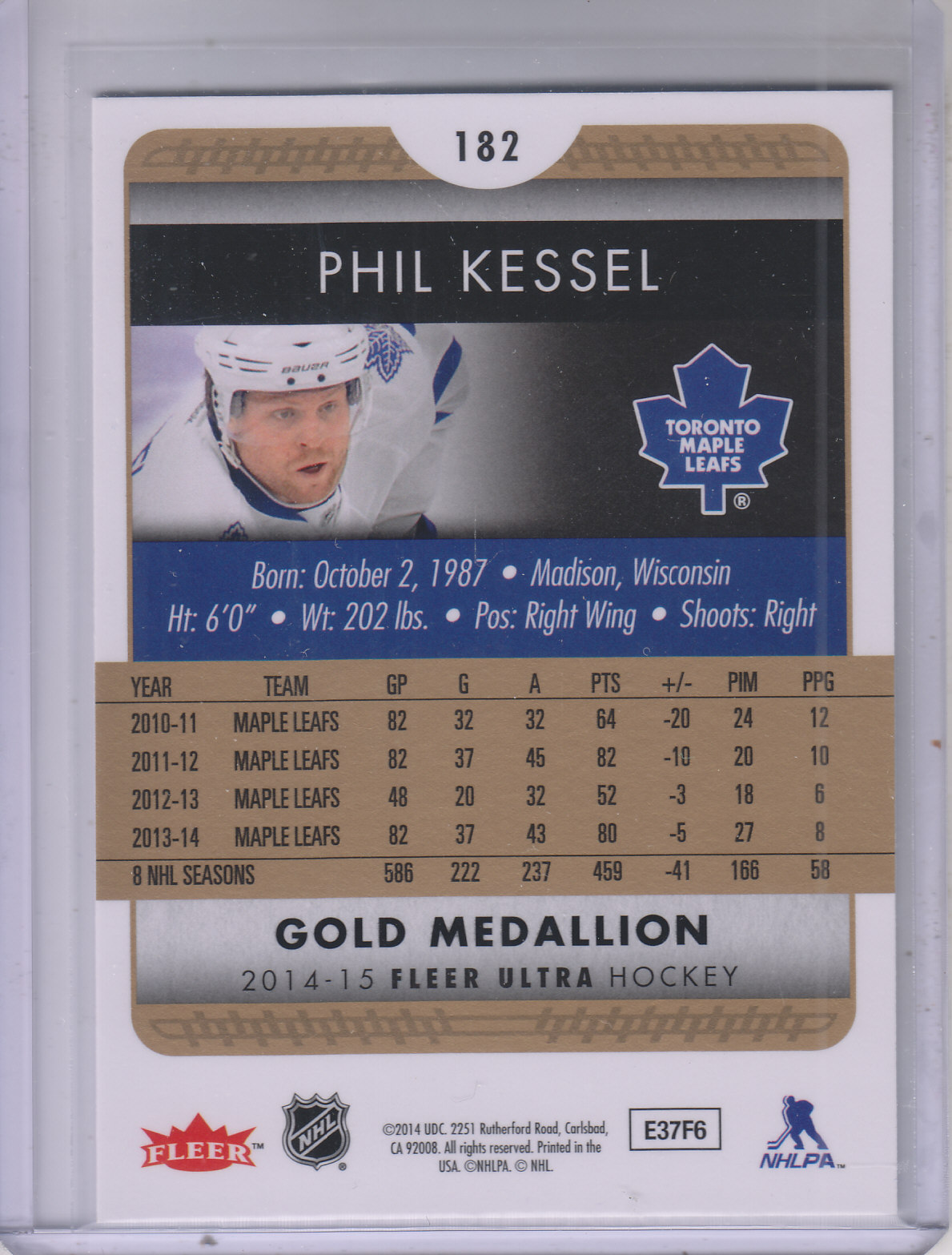 2014-15-Ultra-Hk-Base-Gold-Inserts-Rookies-You-Pick-Buy-10-cards-FREE-SHIP thumbnail 167