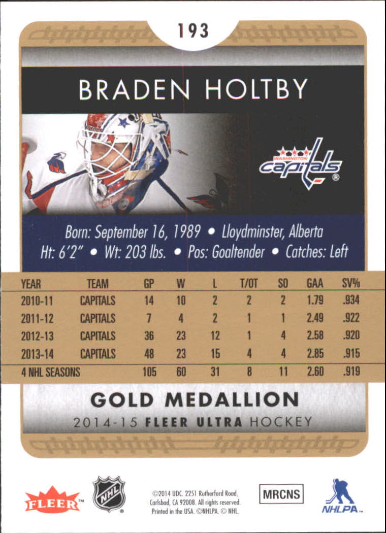 2014-15-Ultra-Hk-Base-Gold-Inserts-Rookies-You-Pick-Buy-10-cards-FREE-SHIP thumbnail 176