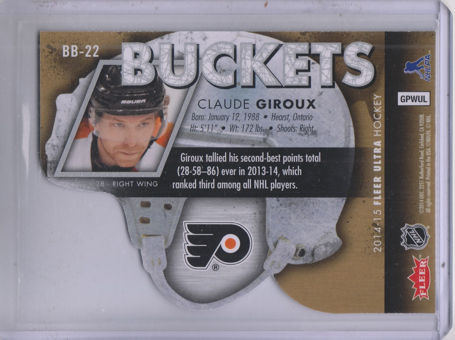 2014-15-Ultra-Hk-Base-Gold-Inserts-Rookies-You-Pick-Buy-10-cards-FREE-SHIP thumbnail 35