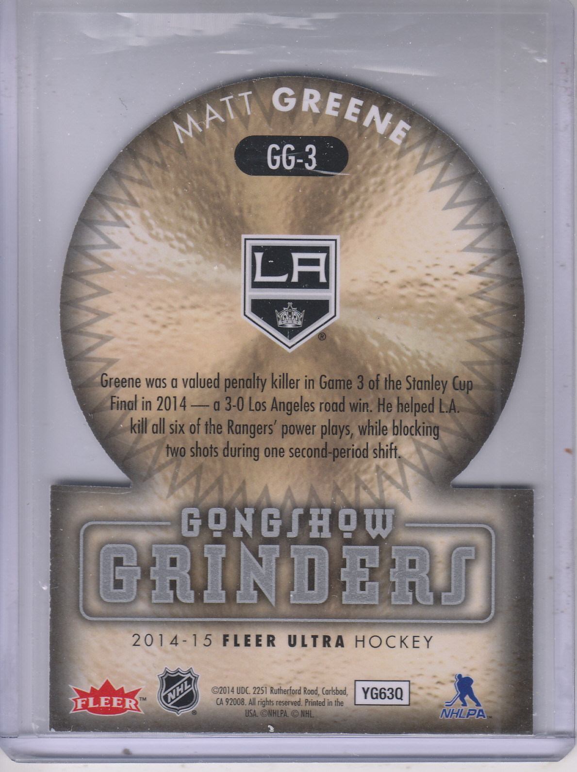2014-15-Ultra-Hk-Base-Gold-Inserts-Rookies-You-Pick-Buy-10-cards-FREE-SHIP thumbnail 186