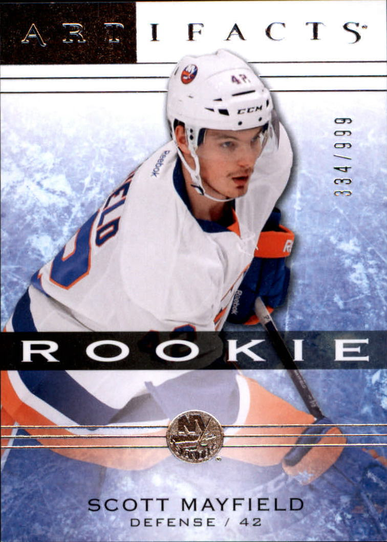 2014-15 Artifacts #140 Scott Mayfield RC