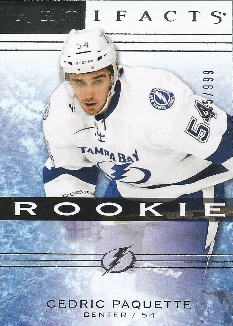 2014-15 Artifacts #144 Cedric Paquette RC