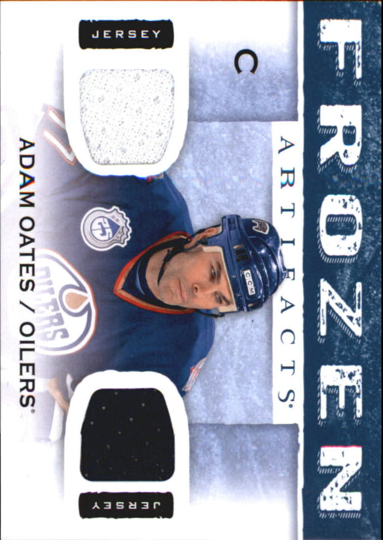 2014-15 Artifacts Frozen Artifacts Jerseys Blue #FAAO Adam Oates