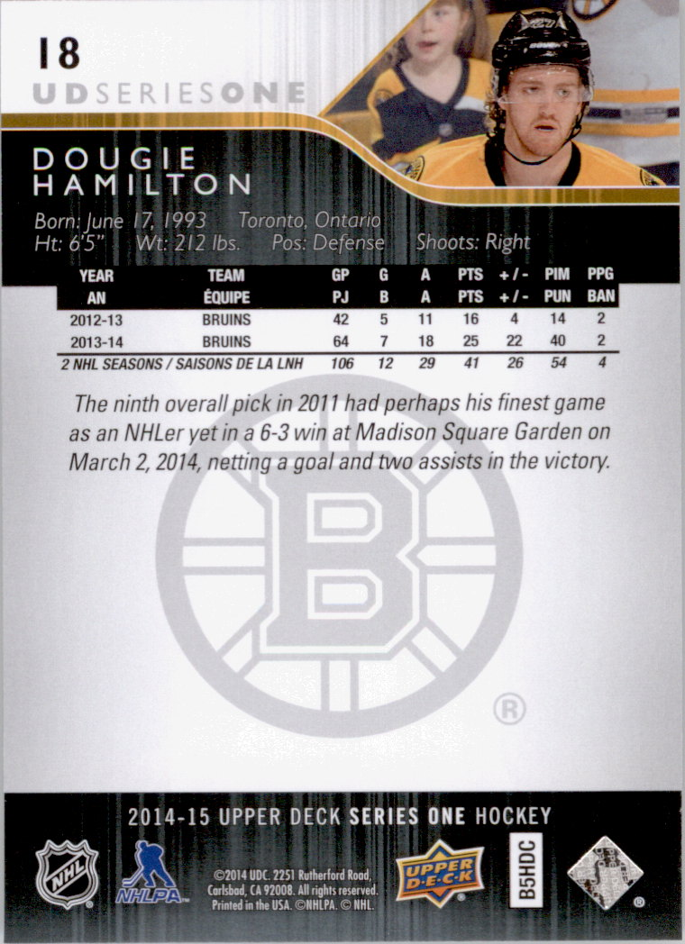 2014-15-Upper-Deck-Hk-Card-s-1-250-Rookies-U-Pick-Buy-10-cards-FREE-SHIP thumbnail 37