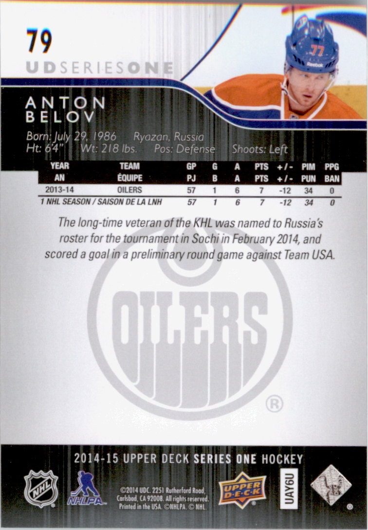 2014-15-Upper-Deck-Hk-Card-s-1-250-Rookies-U-Pick-Buy-10-cards-FREE-SHIP thumbnail 159